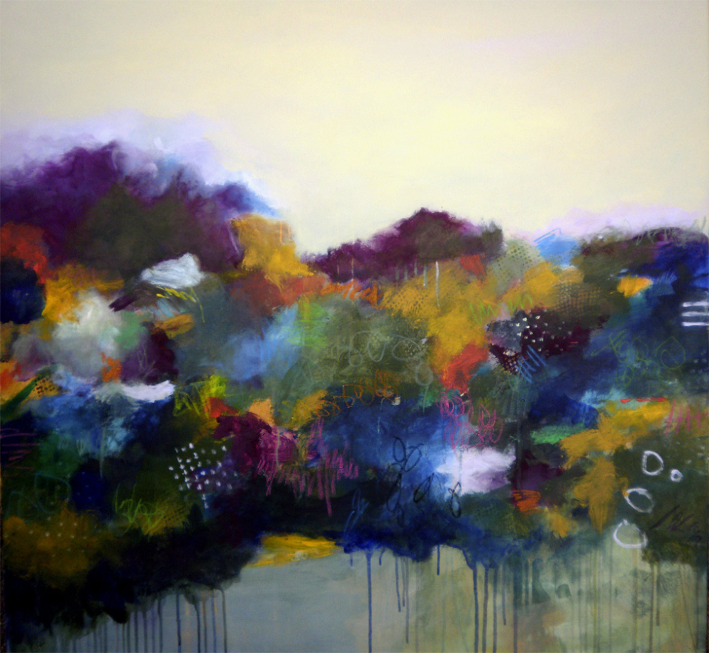 After the rain, 100 x 100 cm, sold