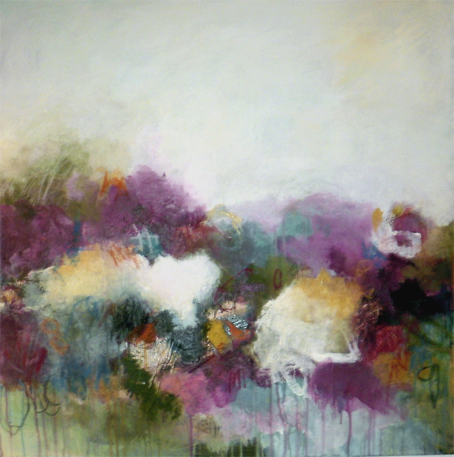 a waltz of gratitude 80 x 80 cm, sold