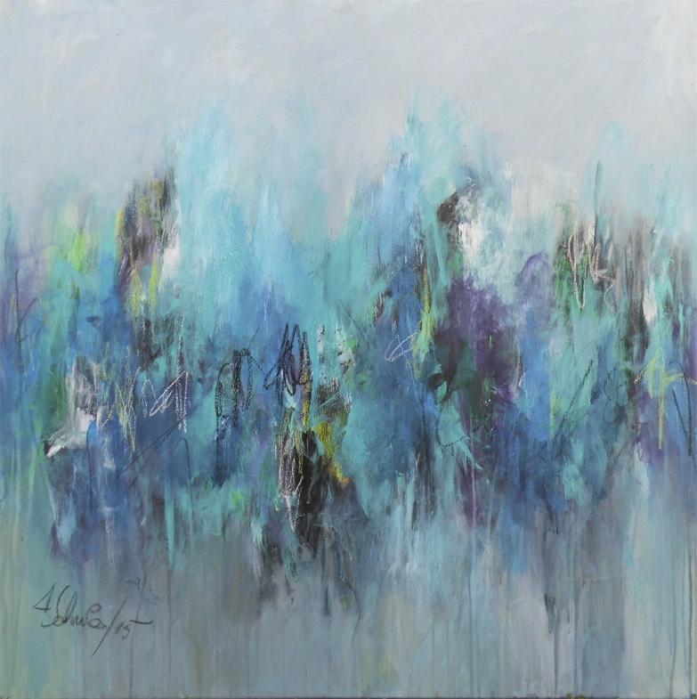 CAPRICCIO Painting, 80 H x 80 W x 2 cm